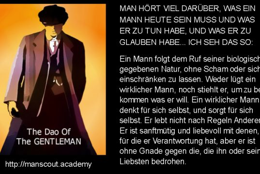 Dao of the Gentleman